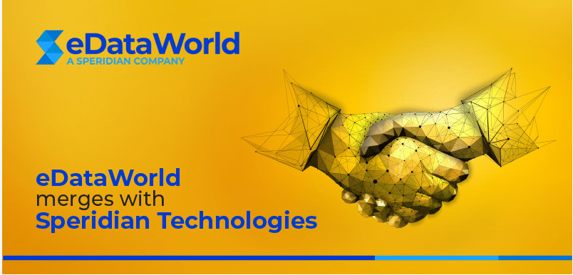 eDataWorld merges with Speridian Technologies