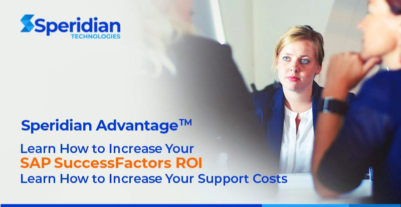 Three Reasons You Need a SuccessFactors MSP