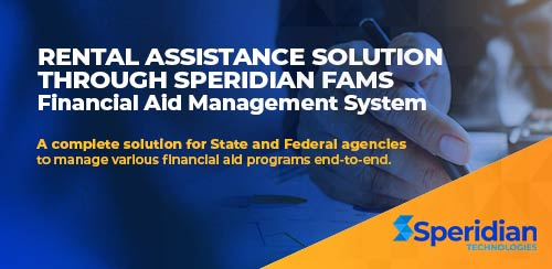 Rental Assistance solution  through Speridian FAMS