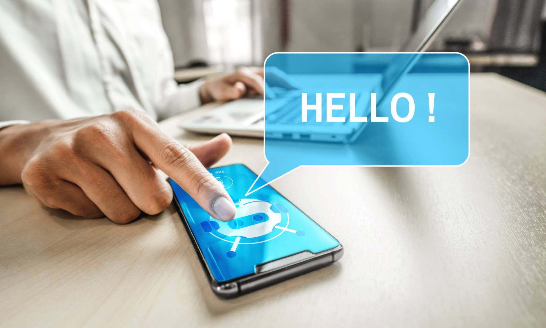 Chatbots in healthcare featured image